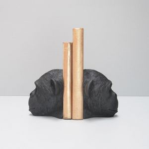 Monkey Bookends | Black