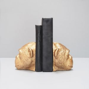 Monkey Bookends | Gold