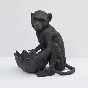 Monkey Bowl | Black | White Moose (Preorder for Christmas)
