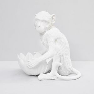 Monkey Bowl | White | White Moose