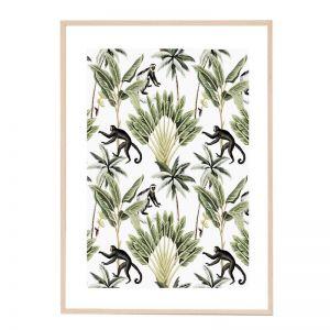 Monkey Vines   Framed Art Print