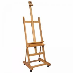 Mont Marte Floor Easel | Large Studio Easel With Castor Wheels