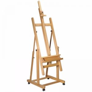 Mont Marte Floor Easel | Tilting Studio Easel with Castor Wheels