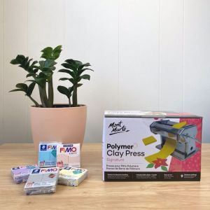 Mont Marte Polymer Clay Press | Rolling & Conditioning Machine