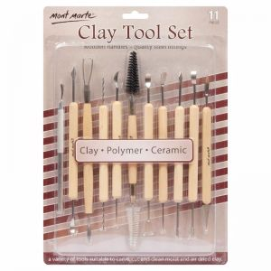 Mont Marte Sculpting | Clay Tool Set 11pc
