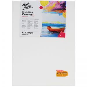 Mont Marte Studio Canvas Single | Thick | 30 x 40cm