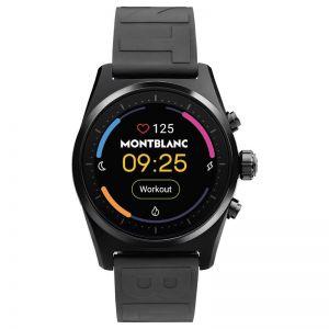 Montblanc Summit Lite Smartwatch | Black and Rubber Strap
