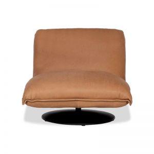 Monty Leather Swivel Chair | freedom