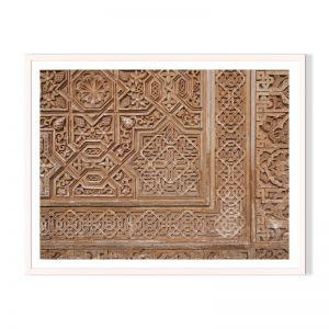 Moorish Pattern | Framed Print by Artefocus