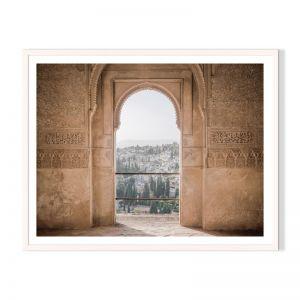 Moorish Vista   Framed Print by Artefocus