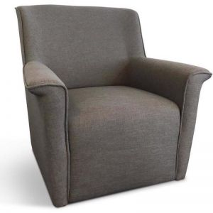 Morini Lounge Chair | Grey | Modern Furniture