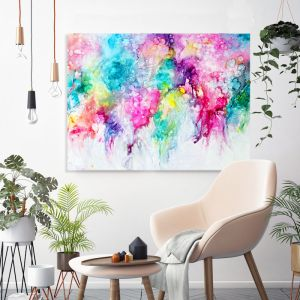 Morning Blooms 2020 | Celeste Wrona | Original Painting