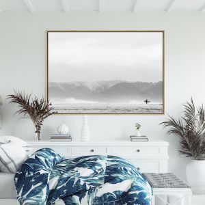 Morning Paddle | Drop Shadow Framed Wall Art