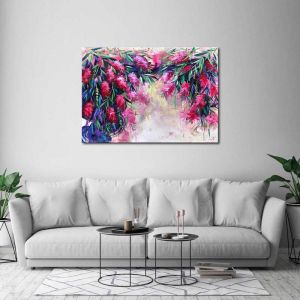 Morning Walk | Canvas Print | By United Interiors