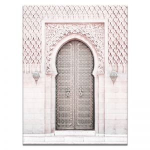Moroccan Door 3 | Canvas or Print by Artist Lane