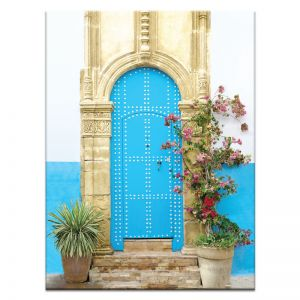 Moroccan Door | Canvas or Print by Artist Lane