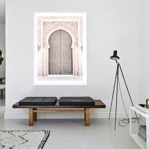 Moroccan Door II Photo Art Print (Various Sizes)
