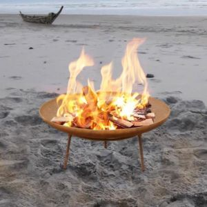 Morocco 60cm Rust Fire Pit