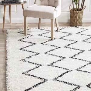Morocco Rug | White