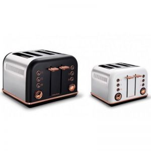 Morphy Richards Accents Rose Gold 4 Slice Toaster
