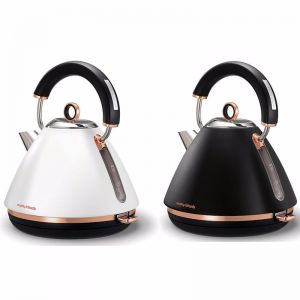 Morphy Richards Accents Rose Gold Traditional Pyramid Kettle