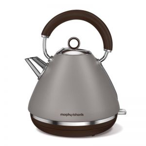 Morphy Richards Traditional Pyramid Kettle | Pebble