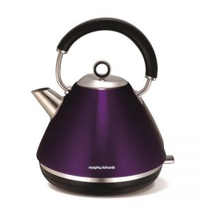 Morphy Richards Traditional Pyramid Kettle | Plum
