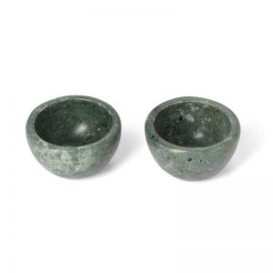 Moss Salt and Pepper Vessels | Set of Two