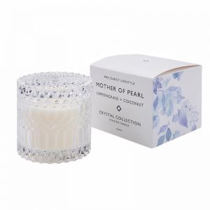 Mother of Pearl Candle by Mrs Darcy | Lemongrass and Coconut