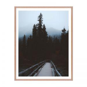 Mountain Trail | Framed Print | Artefocus