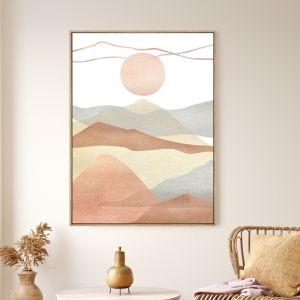 Mountain View | Shadow Framed Wall Art