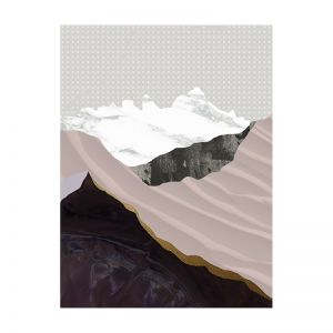 Moving Mountains I | Canvas Print