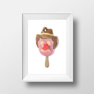 Mr Bill Tribute | Art Print | Framed and Unframed