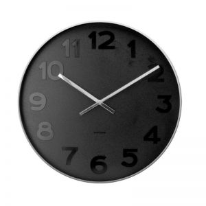 Mr Black Numbers Wall Clock | CLU Living