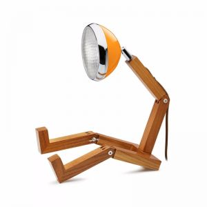 Mr Wattson Table Lamp - McClaren Orange