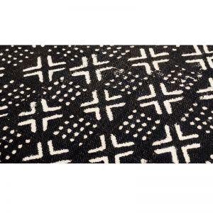 Mudcloth Bench | Cross Motif Designs