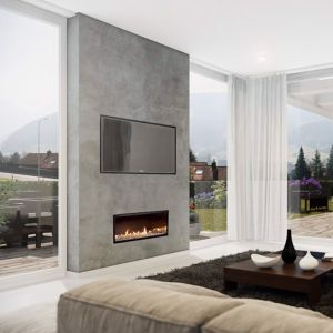 Multiroom Gas Fireplaces | DX Series | Single Sided