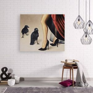 Murder Interrupted by Trisha Lambi | Ltd. Edition Canvas Print | Art Lovers Australia
