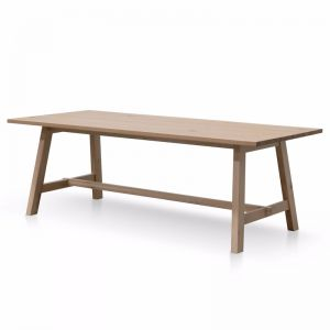 Murillo Wooden Dining Table   Natural   2.2m