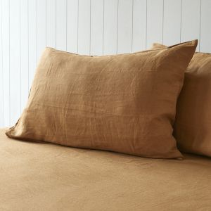 Mustard Pillowcases