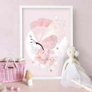 My Heart Flutters | Limited Edition Print by Schmooks
