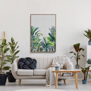 My Tropical View | Jungle Garden Print | Canvas and Art Print