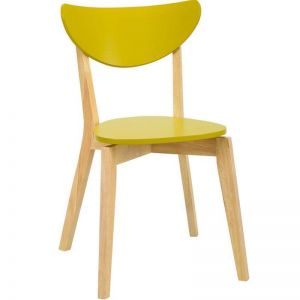 Naida Dining Chair | Olive Yellow | Modern Furniture