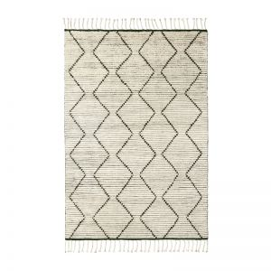 Nala Berber Knot Rug | Natural, Slate | Various Sizes