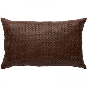 Nappa Rectangle Cushion | Tan