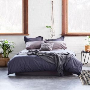 Natal Quilt Cover Set | Ink | Various Sizes | Jamie Durie By Ardor