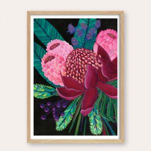 Native Bouquet| Unframed Fine Art Print