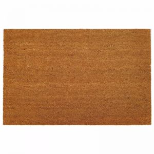 Natural Coir PVC Backed Doormat | Non-Slip Large