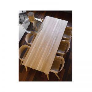 Natural Jutland Solid Oak Dining Table 220cm x 100cm