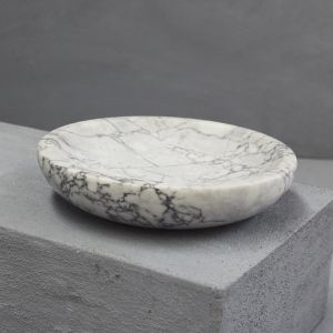 Natural Marble Serving Bowl